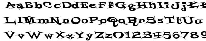 Styrofoam Feelings™ Font Sample
