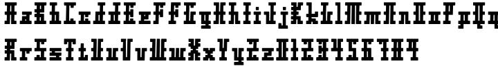 Xolto™ Font Sample