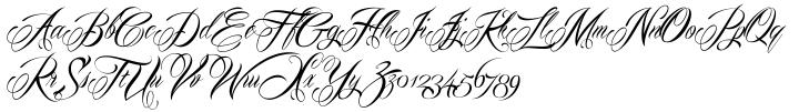 Mardian Pro™ Font Sample