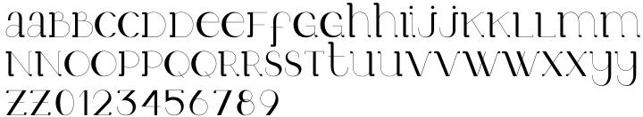 Mr. Victoria Font Sample