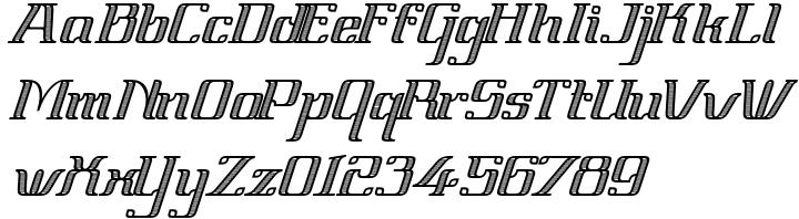 Vinea Font Sample
