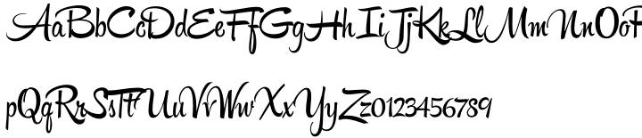 Hipster Script Pro Font Sample
