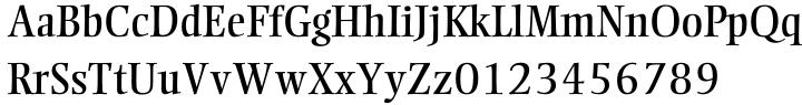 Ellington® Font Sample