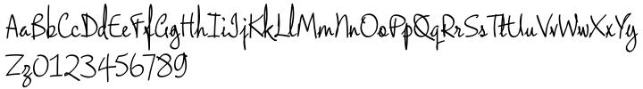 Chokey Pro Font Sample