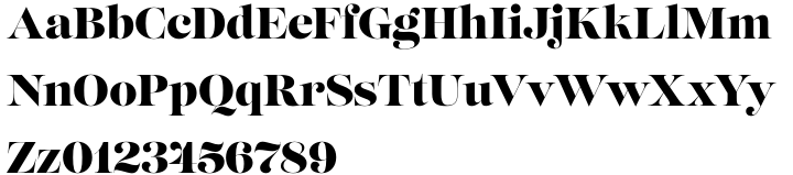 Lust Font Sample