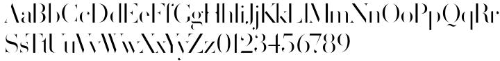 Volterra™ Font Sample