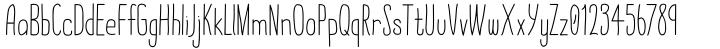 Quick Rest Font Sample