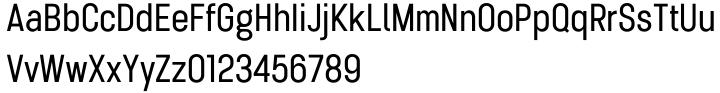 Karben 205 Font Sample