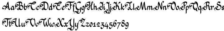 Mrs Grey Font Sample
