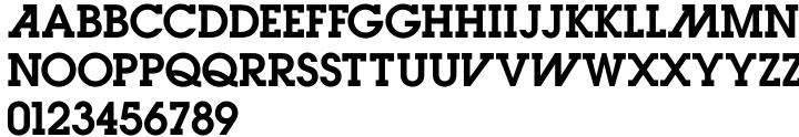 Letro Font Sample