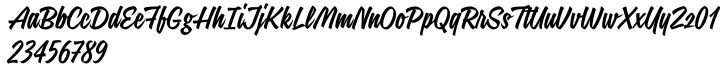 Signalist Font Sample