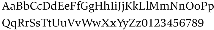 Carat Font Sample
