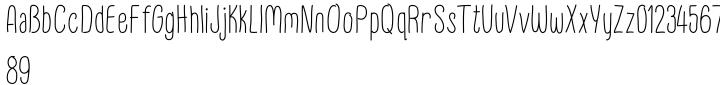 FunFair Font Sample