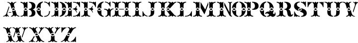 Old Chisholm JNL Font Sample
