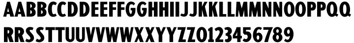 Sign Designer JNL Font Sample