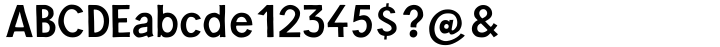 Barack™ Font Sample