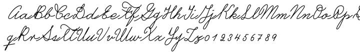 Castro Script™ Font Sample