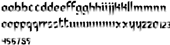 Afrobeat Gothic Font Sample