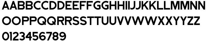 Nondescript JNL Font Sample