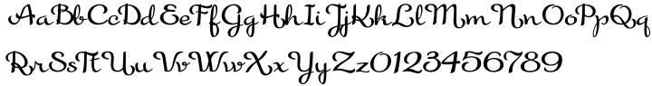 Gilda Font Sample