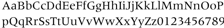 Meridien® Font Sample