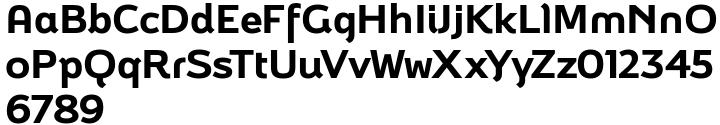 Brisko Display™ Font Sample