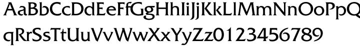 Friz Quadrata Font Sample