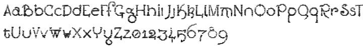 Lestatic Sliced Font Sample