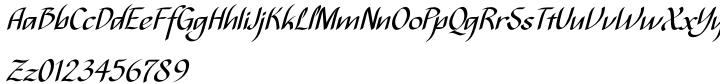 Bispo Font Sample