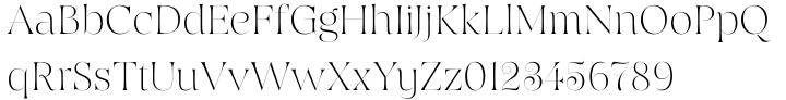 Hoban Font Sample