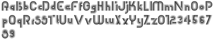 EB Boogie Monster Font Sample
