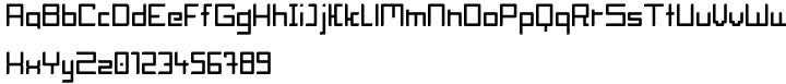 Block Head Font Sample