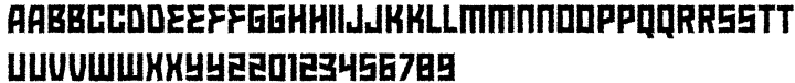 Almost Lovely Font Sample