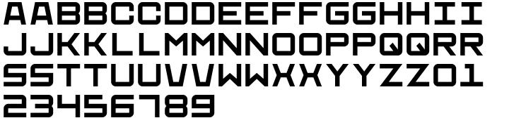 Find A Way Font Sample