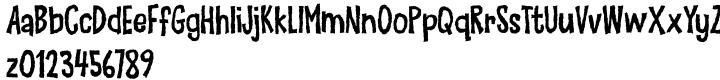 Make Things Right Font Sample