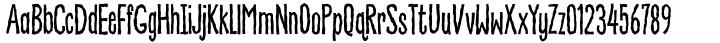 Never Fade Font Sample