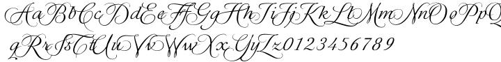 CDuflos Font Sample