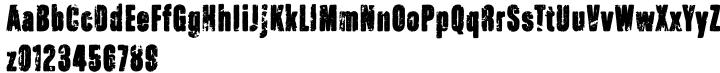 Raw Font Sample