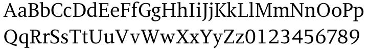 PF Diplomat Serif™ Font Sample