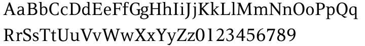 PF Press™ Font Sample