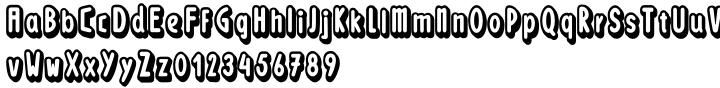 Loncherita Font Sample
