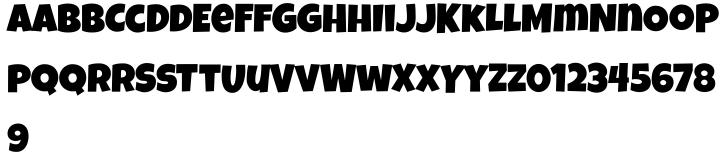 Luckiest Guy Pro Font Sample