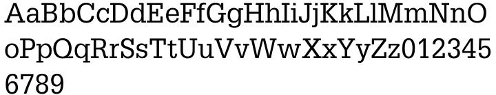 Glypha® Font Sample