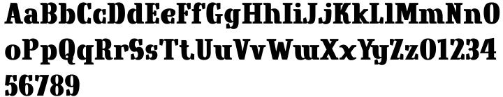 Crowbird Font Sample