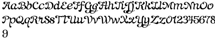 Blondy Font Sample