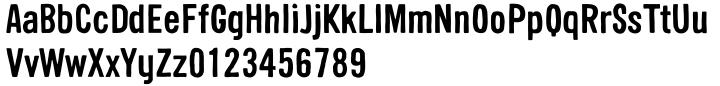 Sini Font Sample