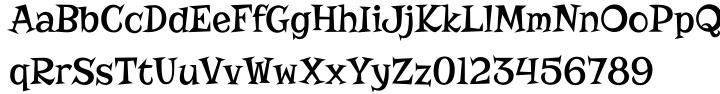 Risque Pro Font Sample