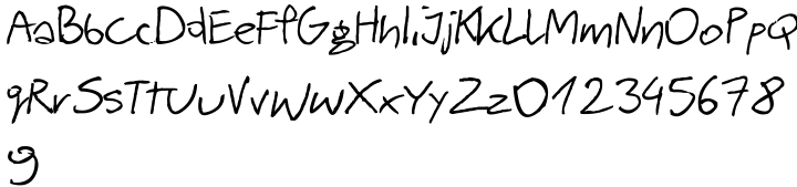 Barme Reczny Font Sample