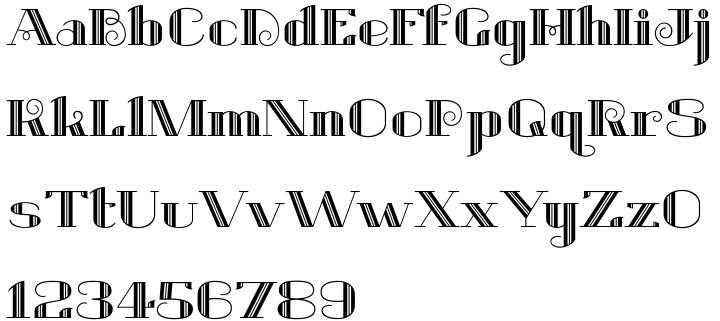 Belle Jardin™ Font Sample
