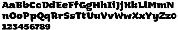 ALS Malina™ Font Sample
